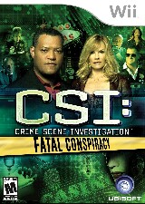 CSI: Crime Scene Investigation: Fatal Conspiracy Pack Shot