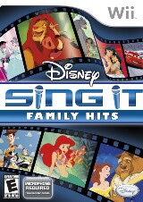 Disney Sing It: Family Hits Pack Shot