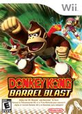 Donkey Kong Barrel Blast Pack Shot