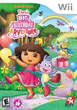 Dora the Explorer: Dora's Big Birthday Adventure Pack Shot