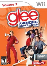 Karaoke Revolution: Glee Volume 3 Pack Shot