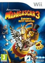 Madagascar 3: The Video Game Pack Shot