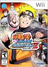 Naruto Shippuden: Clash of Ninja Revolution 3 Pack Shot