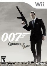 Quantum of Solace: The Game Pack Shot
