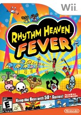 Rhythm Heaven Fever Pack Shot