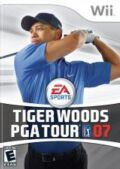 Tiger Woods PGA Tour 07 Pack Shot