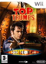 Top Trumps: Dr. Who Pack Shot