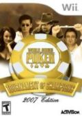 World Series of Poker: Tournament of Champions Pack Shot
