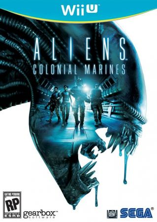Aliens Colonial Marines Pack Shot