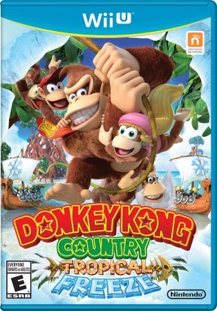 Donkey Kong Country: Tropical Freeze Pack Shot