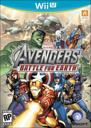 Marvel Avengers: Battle for Earth Pack Shot