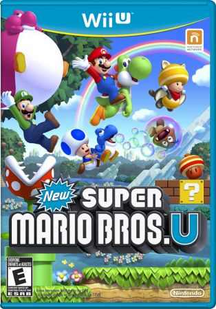 New Super Mario Bros. U Pack Shot