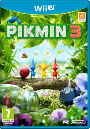 Pikmin 3 Pack Shot
