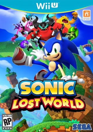 Sonic Lost World Pack Shot