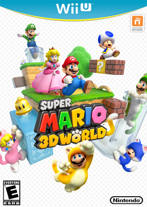 Super Mario 3D World Pack Shot