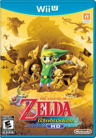 The Legend of Zelda: The Wind Waker HD Pack Shot