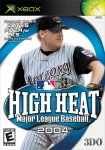 High Heat Major League Baseball 2004 Pack Shot