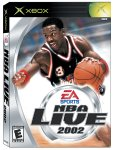 NBA Live 2002 Pack Shot