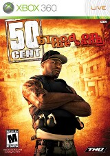 50 Cent: Blood on the Sand Pack Shot