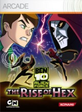 Ben 10: Alien Force - The Rise of Hex Pack Shot