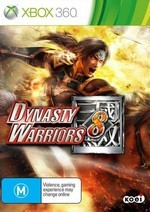 Dynasty Warriors 8 Pack Shot