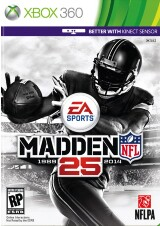 how to play madden 25 xbox 360