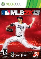 Major League Baseball 2K13 Pack Shot