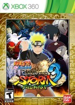 Naruto Shippuden: Ultimate Ninja Storm 3 Full Burst Pack Shot