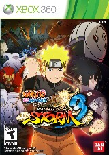 Naruto Shippuden: Ultimate Ninja Storm 3 Pack Shot
