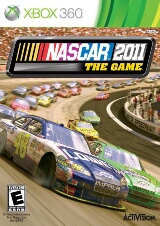 NASCAR The Game 2011 Pack Shot