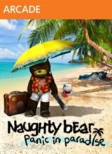 Naughty Bear: Panic in Paradise Pack Shot