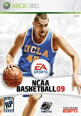 NCAA Basketball 09 Pack Shot