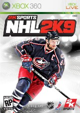NHL 2K9 Pack Shot