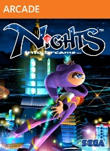 NiGHTS into Dreams Pack Shot