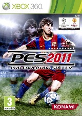 Pro Evolution Soccer 2011 Pack Shot