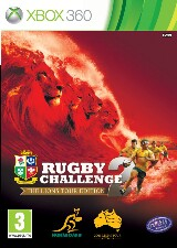 Rugby Challenge 2: The Lions Tour Edition Pack Shot