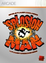Splosion Man Pack Shot