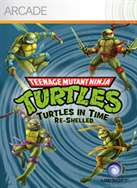 Teenage Mutant Ninja Turtles: Turtles In Time Re-Shelled Pack Shot
