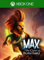 Max: The Curse of Brotherhood Pack Shot