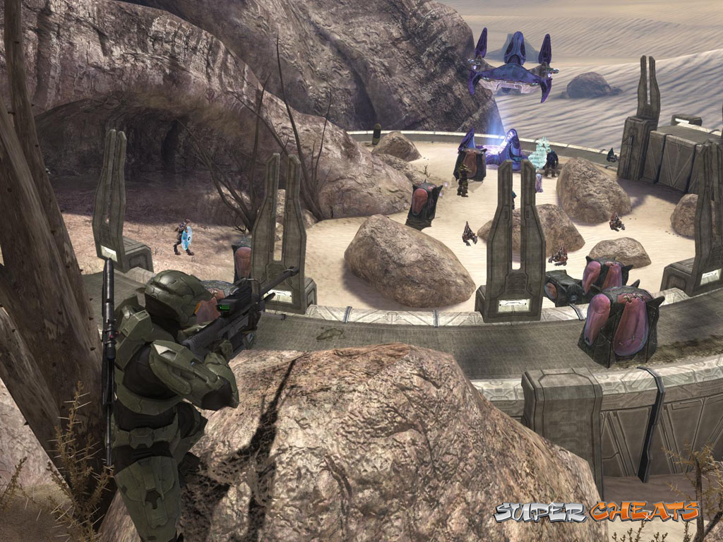 Halo 3 Guide - Mission 6, The Ark